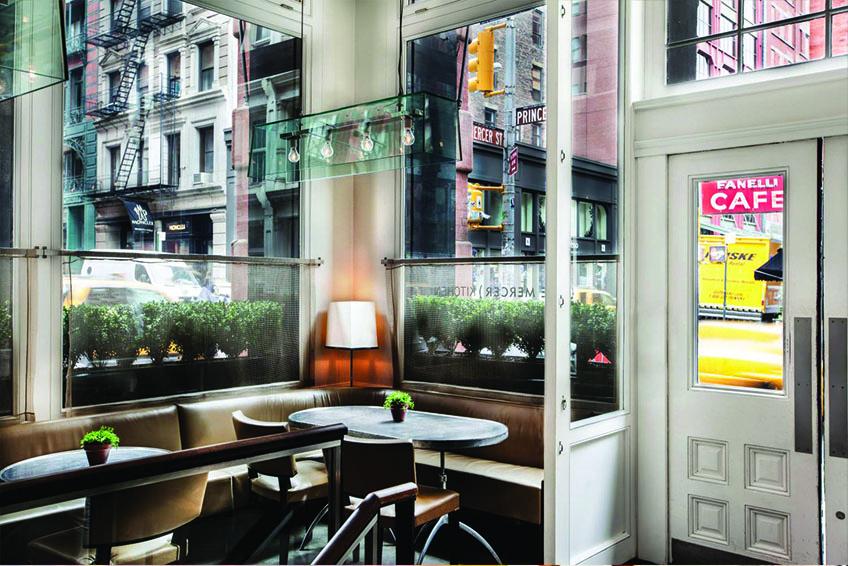 Mercer Kitchen in NYC Restaurant Interior
