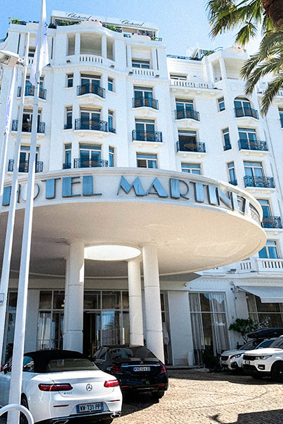 Hotel Martinez in Cannes