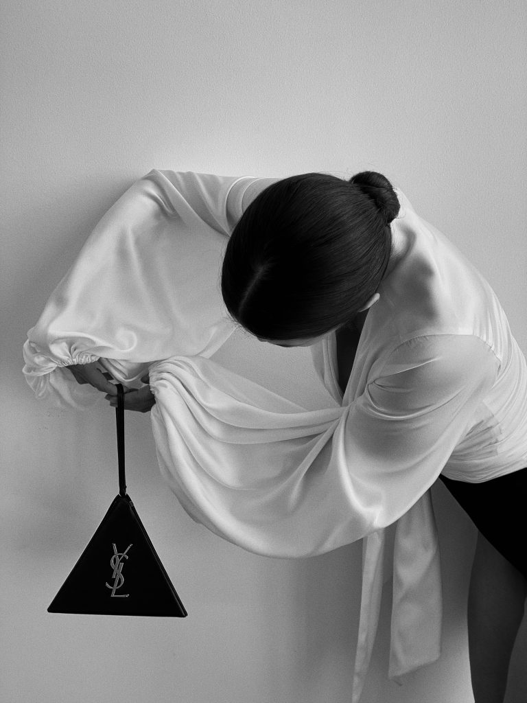 Black & White YSL Handbag Series with Victoria Barbara