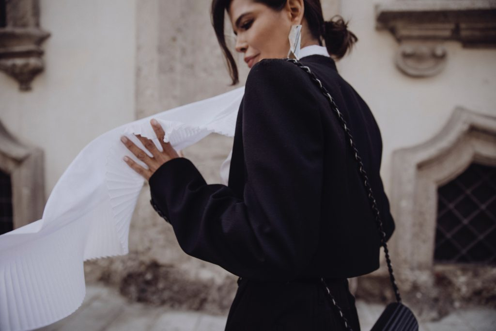 Victoria Barbara Street Style in Givenchy