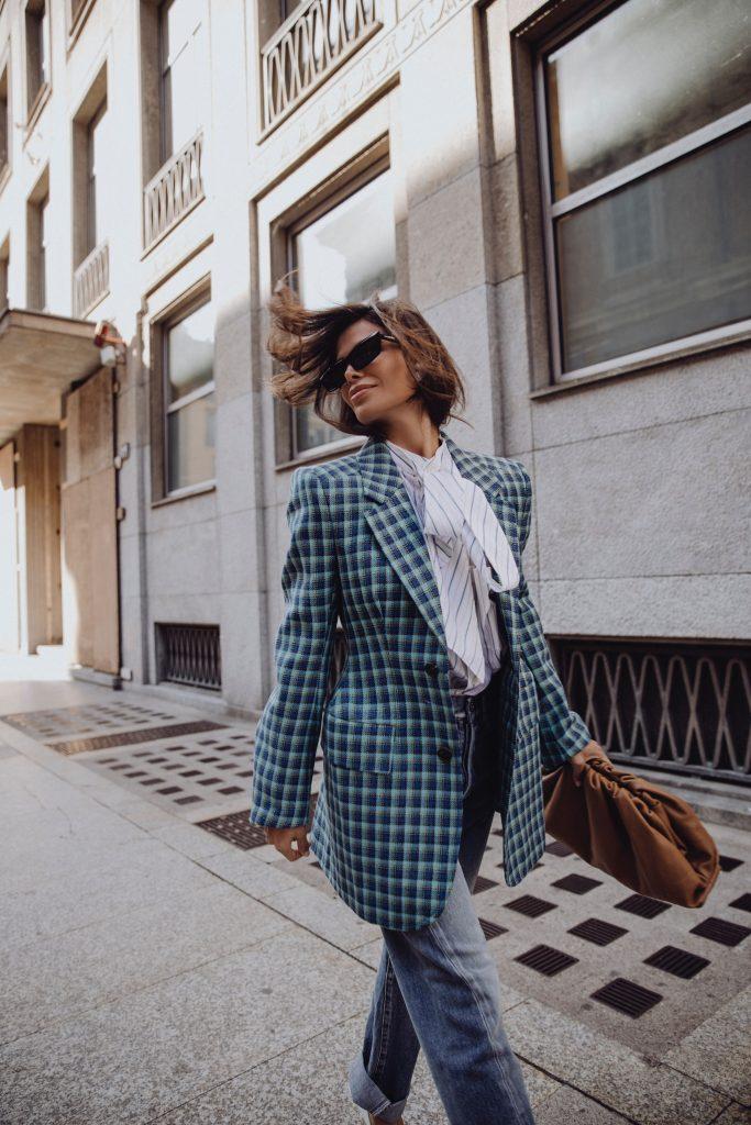 Victoria Barbara Street Style wearing Balenciaga