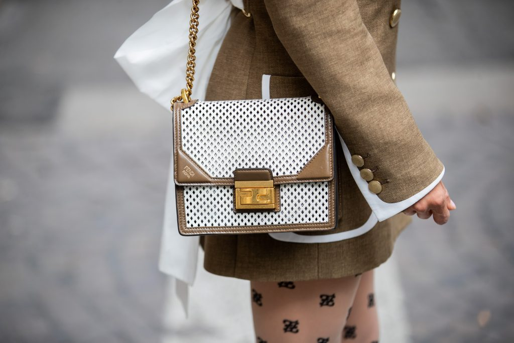 Victoria Barbara's MFW Fendi Street Style Look