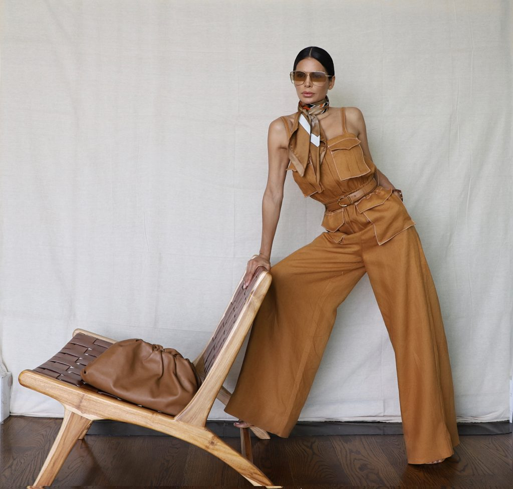 Victoria Barbara Quarantine Fashion Stay Home Style Wearing Shona Joy