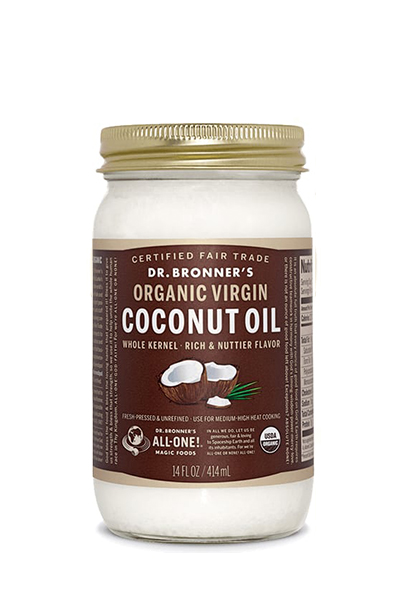Dr. Bronner's Fair Trade & Organic Whole Kernel Virgin Coconut Oil