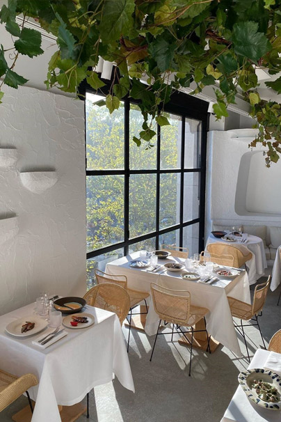 Cafe OURSIN Interior by Jacquemus