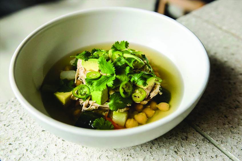Atla Restaurant NYC Chicken Soup