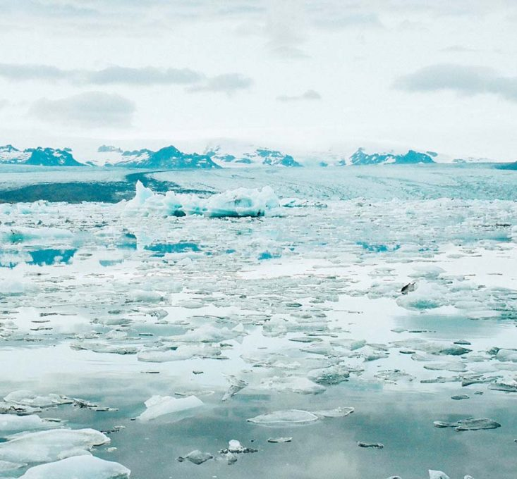 Ice and Ocean Landscape