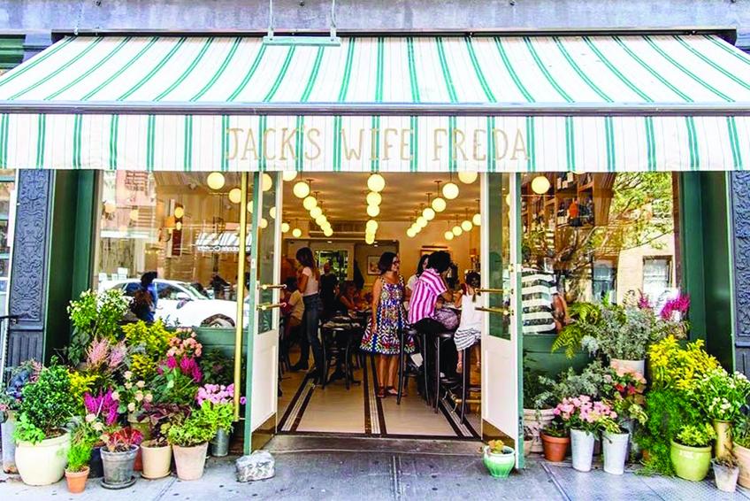 Jack's Wife Freda Restaurant in NYC Street View