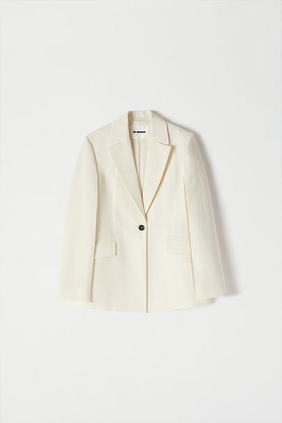 Jil Sander White Suit