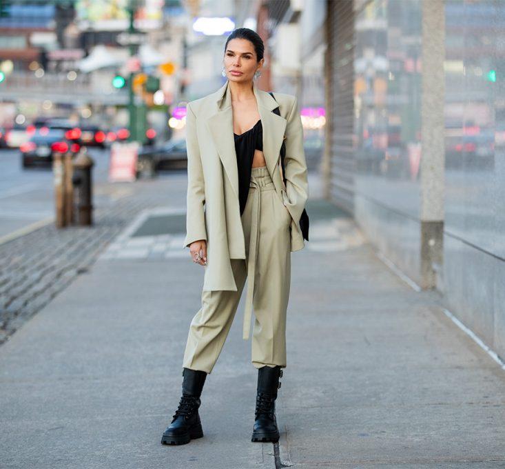 Victoria Barbara NYFW Street Style