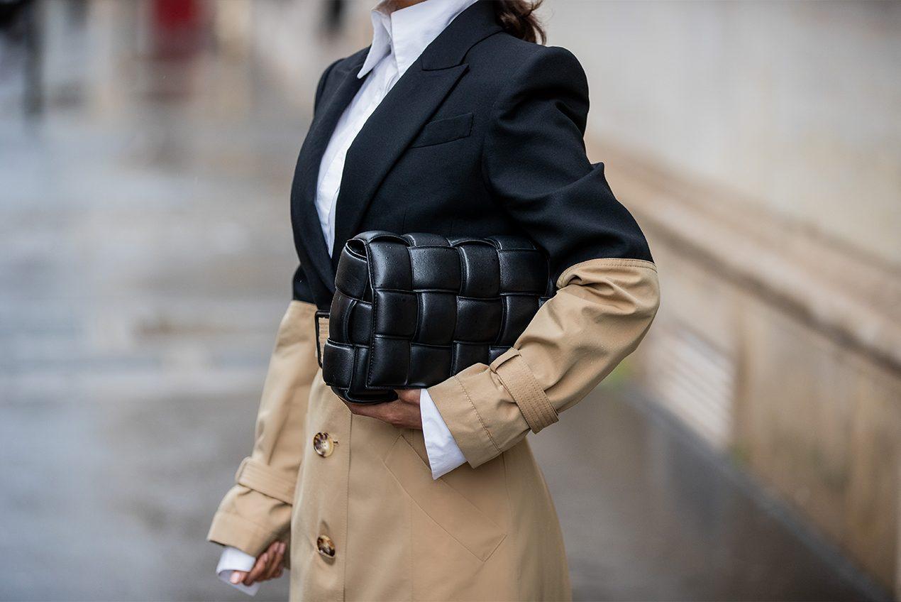 Victoria Barbara Paris Fashion Week 2020 Street Style in Alexander McQueen