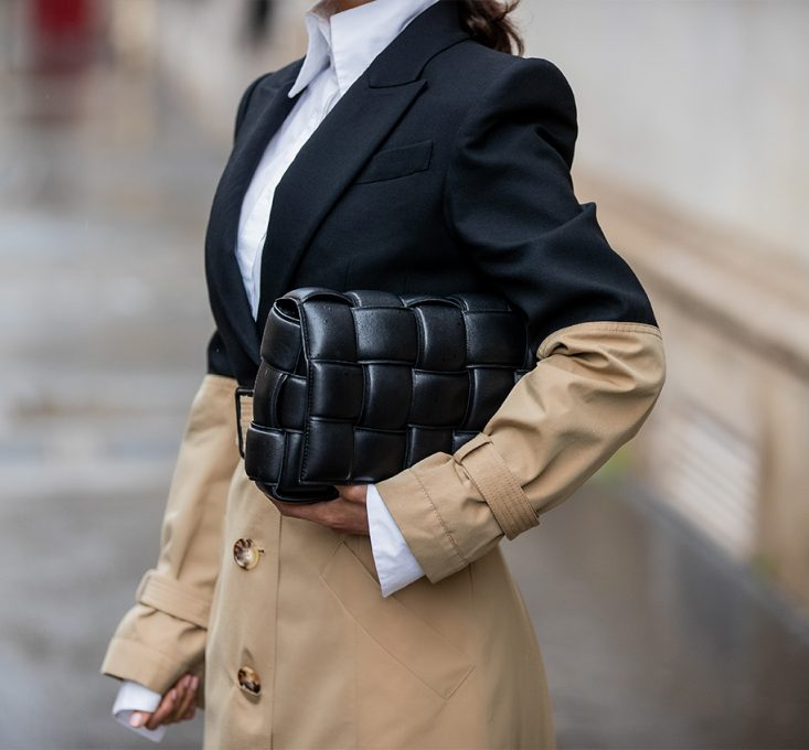 Victoria Barbara Paris Fashion Week 2020 Street Style in Alexander McQueen