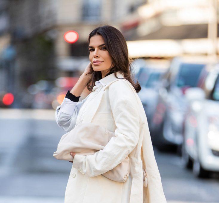 Victoria Barbara Paris Fashion Week 2020 Street Style