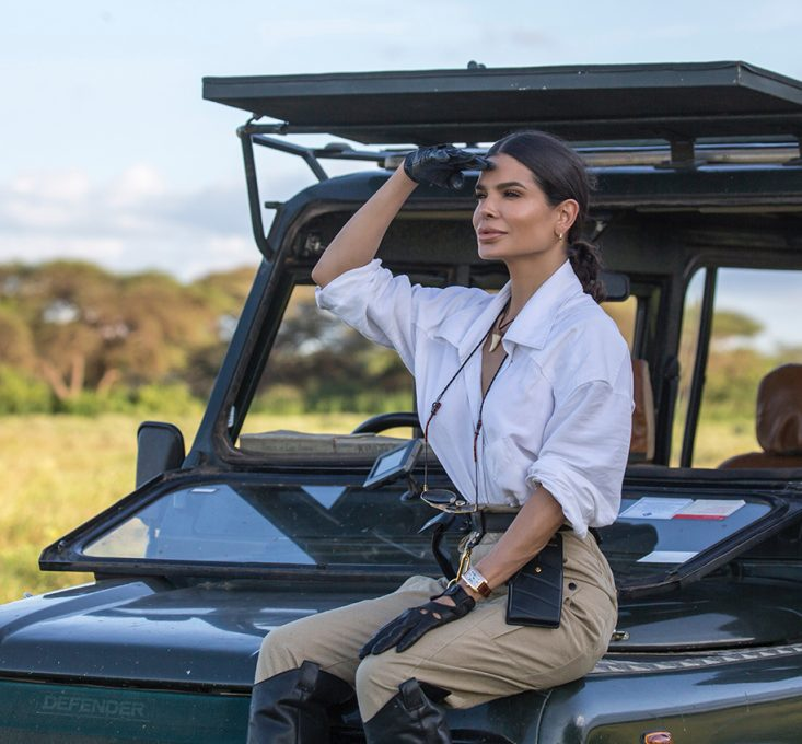 Victoria Barbara Kenya Safari