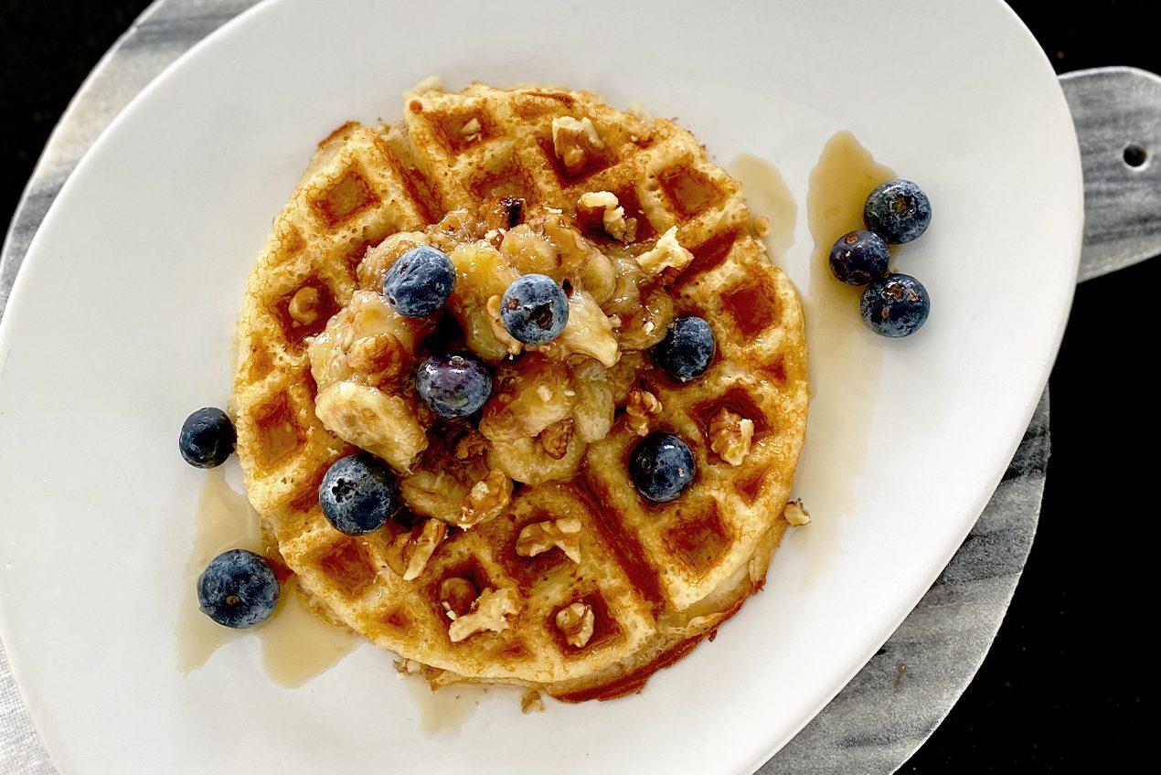 Vegan Waffle Recipe by Victoria Barbara